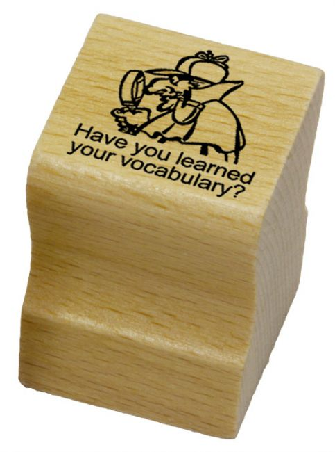 Have you learned your vokabulary?